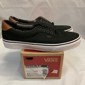Vans Mens ERA 59 (C&L) Black/Material Mix